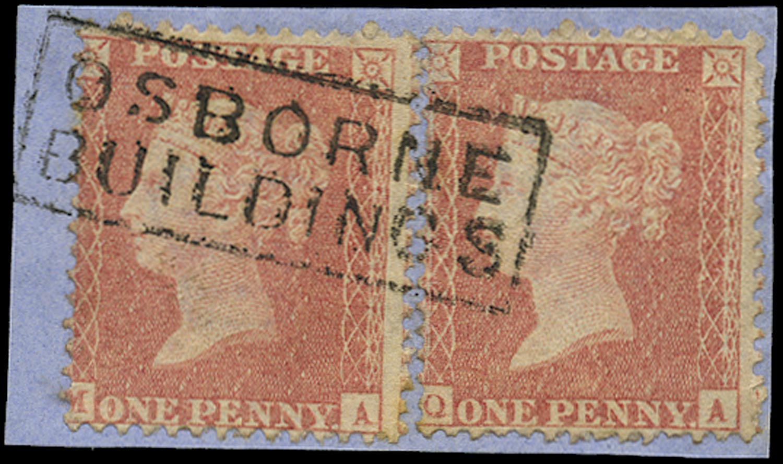 GB 1857  SG38var Pl.38 Used -