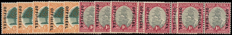 SOUTH AFRICA 1930  SGO16w var Official