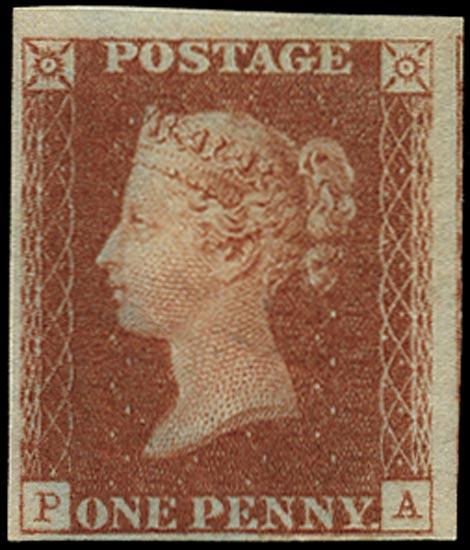 GB 1840  SG7 Pl.11 Mint Unused o.g. example (PA)