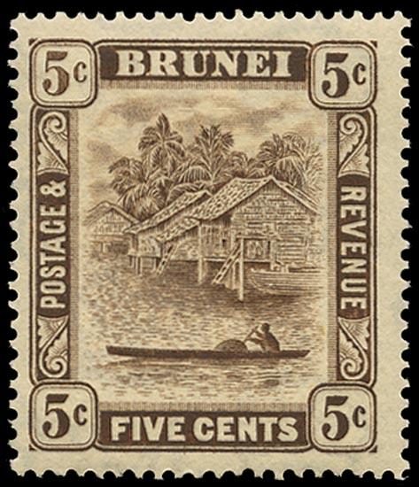 BRUNEI 1933  SG68a Mint