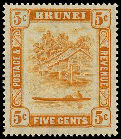 BRUNEI 1947  SG82a Mint