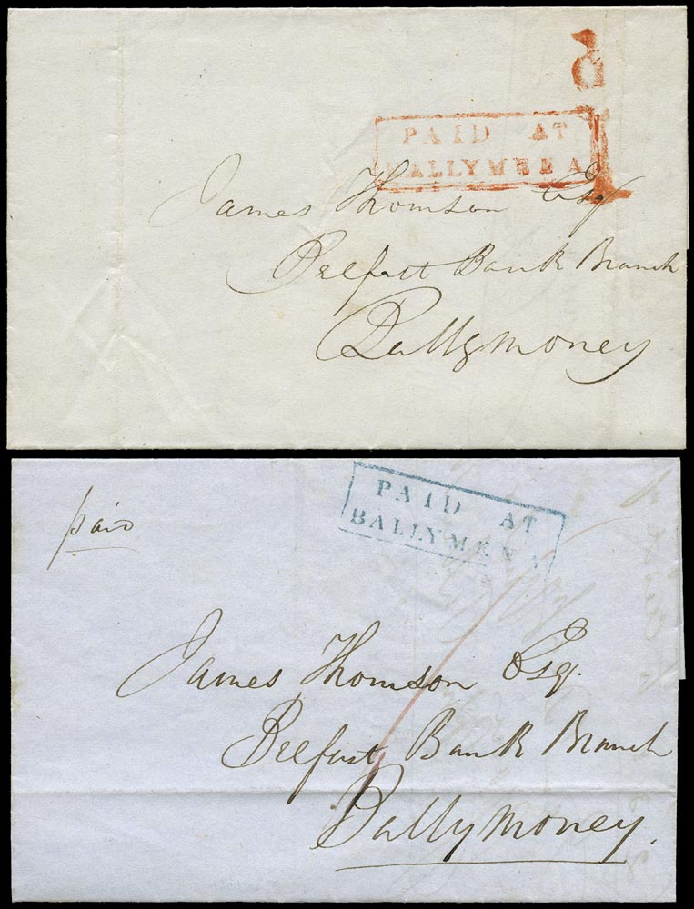 GB 1841 Cover - UPP Ballymena to Ballymoney