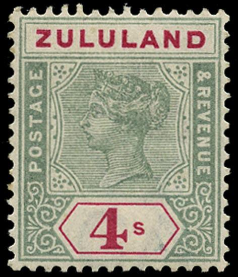 ZULULAND 1894  SG27 Mint