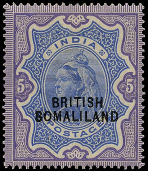 SOMALILAND PROTECT 1903  SG24 Mint