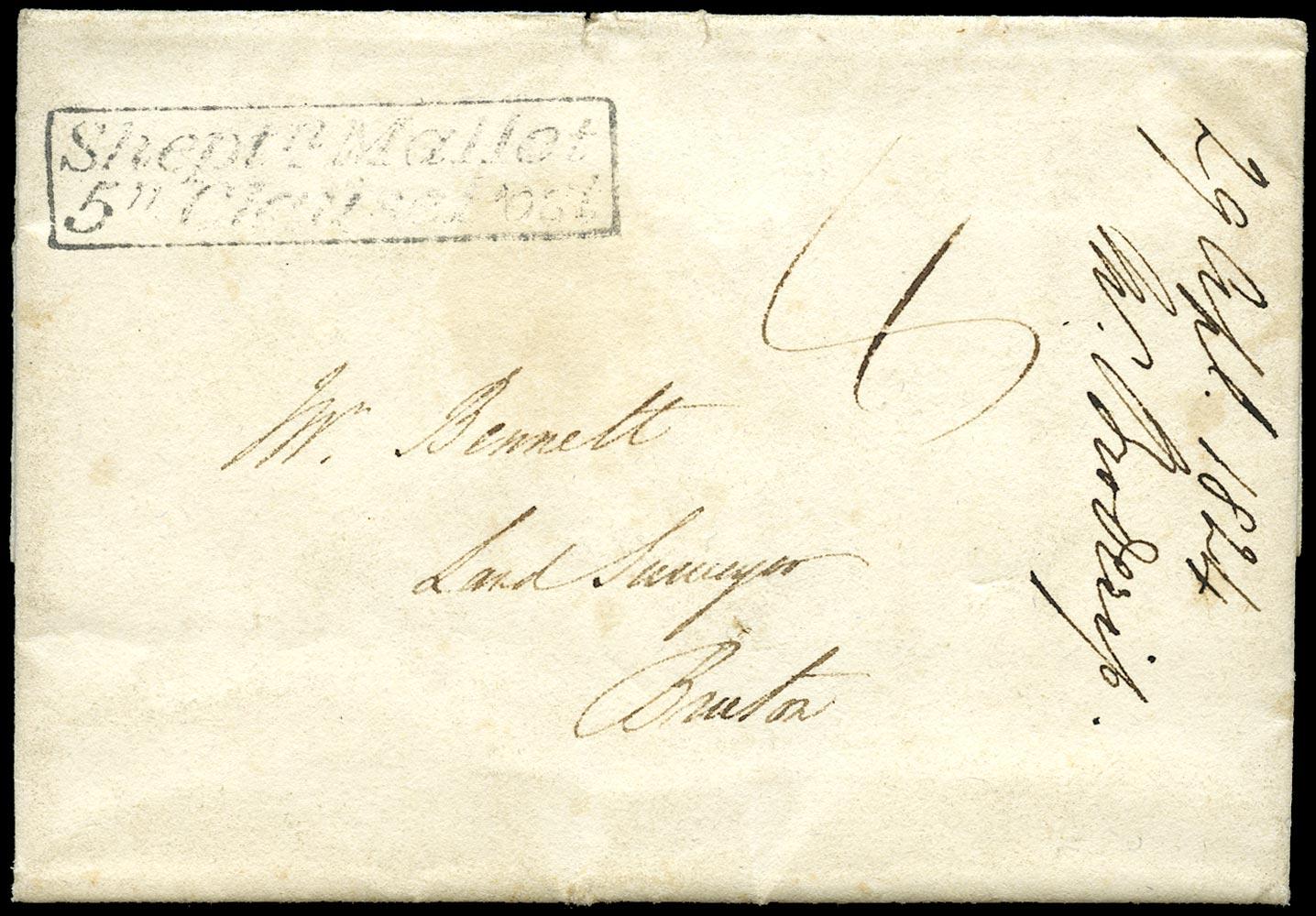 GB 1824 Pre-Stamp -