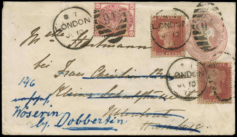 GB 1875  SG43,143 Cover