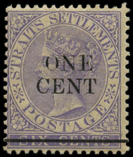 MALAYA - STRAITS 1892  SG90b Mint
