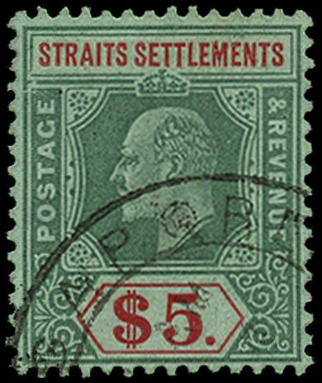 MALAYA - STRAITS 1906  SG167 Used