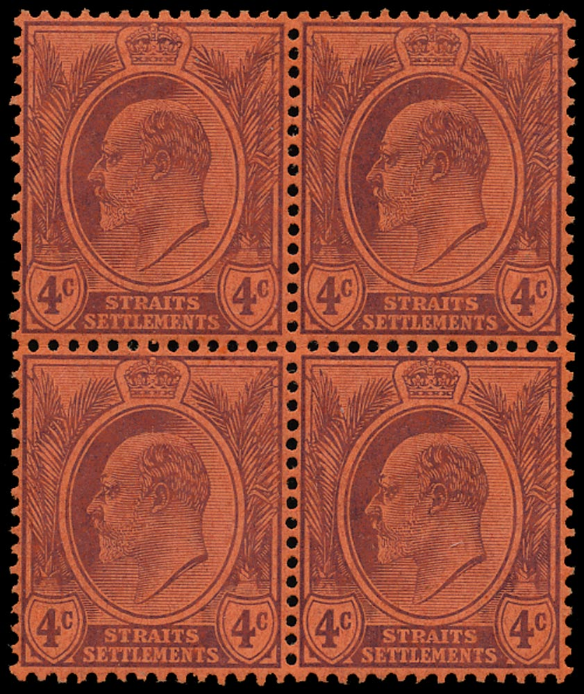 MALAYA - STRAITS 1904  SG129a Mint
