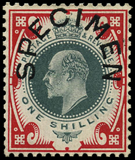 GB 1906  SG259s Specimen