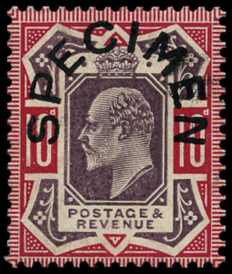 GB 1906  SG255as Specimen