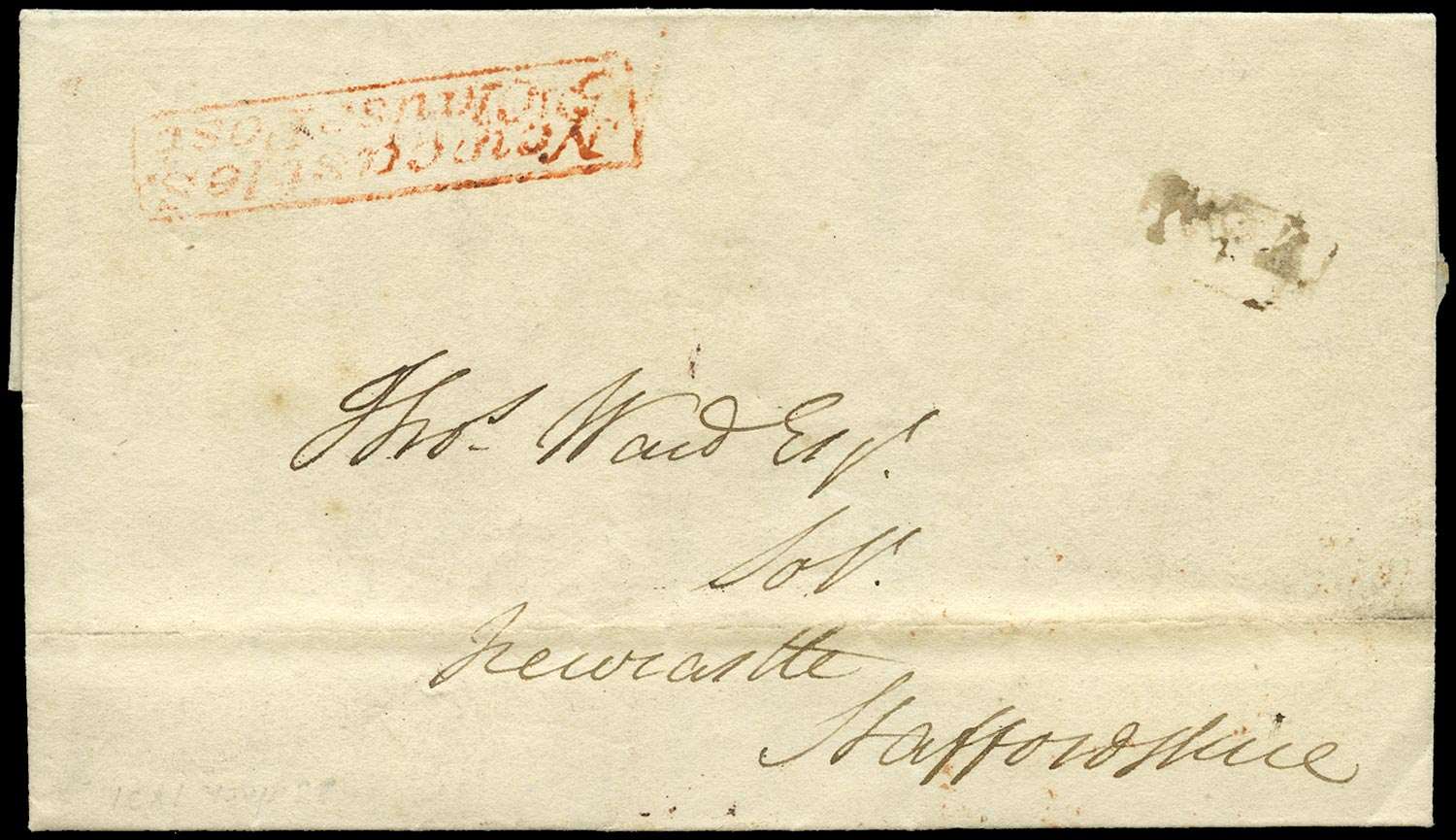GB 1831 Pre-Stamp - Red