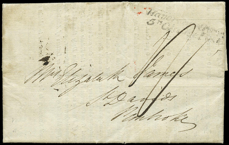 GB 1833 Pre-Stamp -
