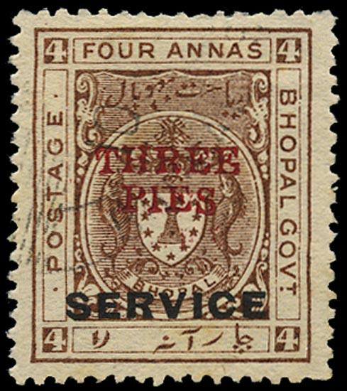 I.F.S. BHOPAL 1935  SGO324 Official