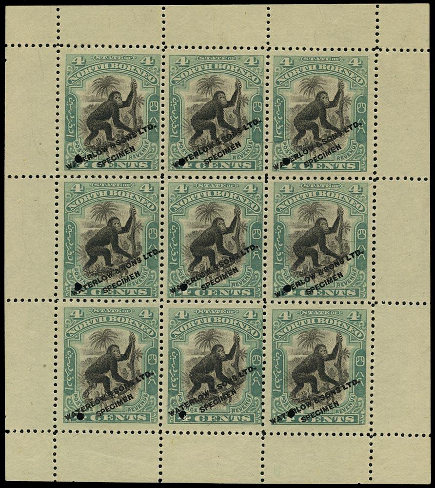 NORTH BORNEO 1897  SG98 Proof