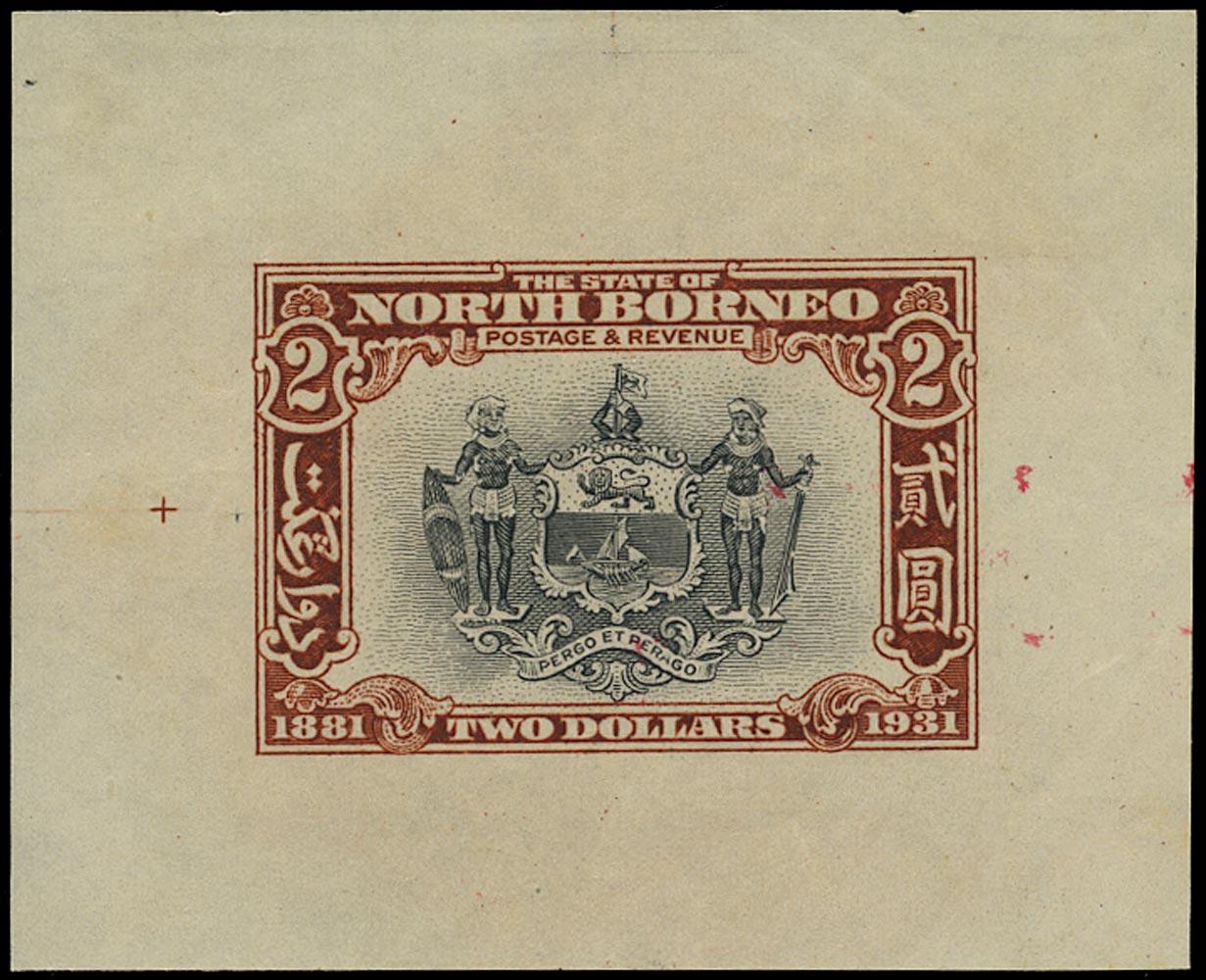 NORTH BORNEO 1931  SG301 Proof