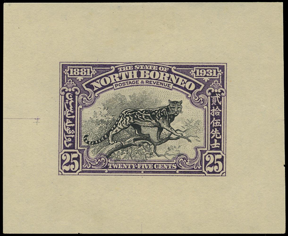NORTH BORNEO 1931  SG299 Proof