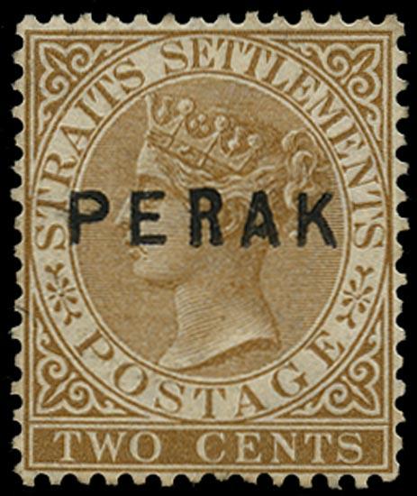 MALAYA - PERAK 1880  SG7 Mint