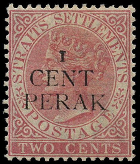 MALAYA - PERAK 1887  SG31 Mint