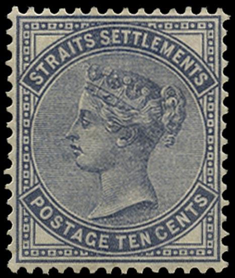 MALAYA - STRAITS 1882  SG49 Mint