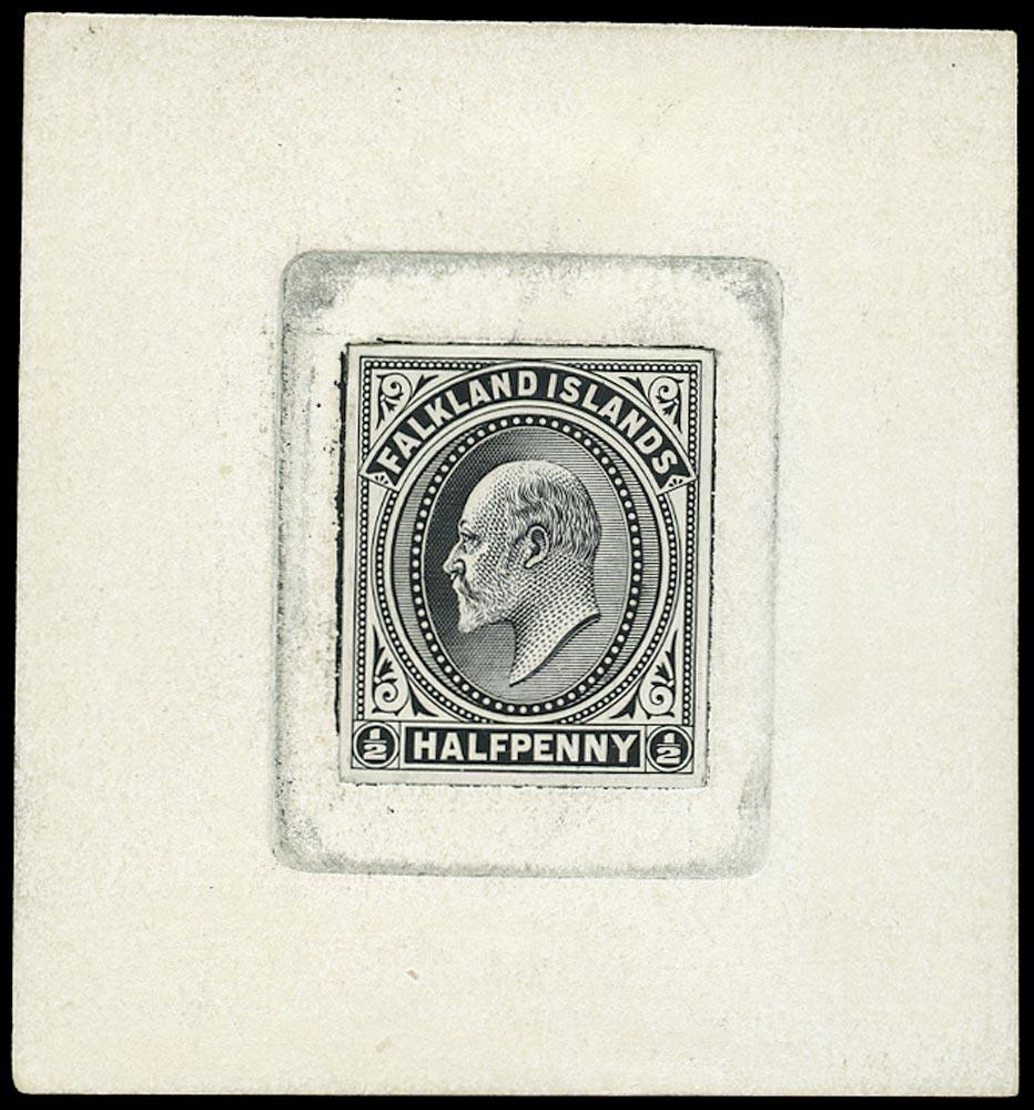 FALKLAND ISLANDS 1901  SG43 Proof