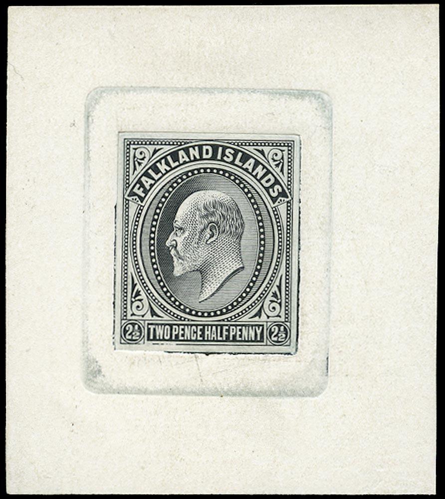 FALKLAND ISLANDS 1903  SG46 Proof 2½d die proof