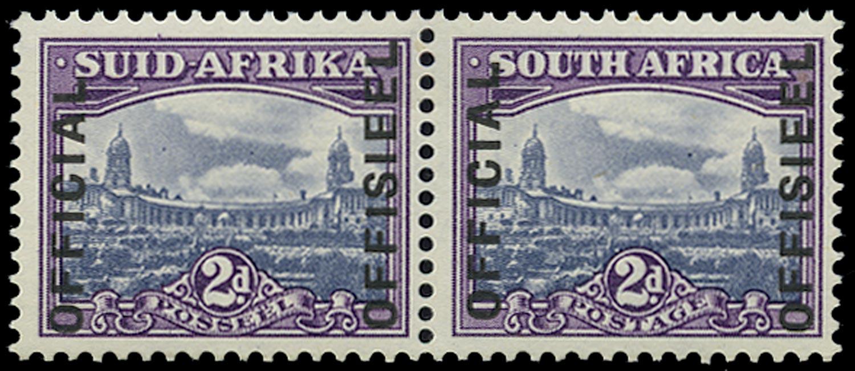 SOUTH AFRICA 1944  SGO35 Official Key KGVI Rarity