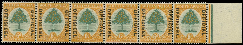 SOUTH AFRICA 1929  SGO9/a Official