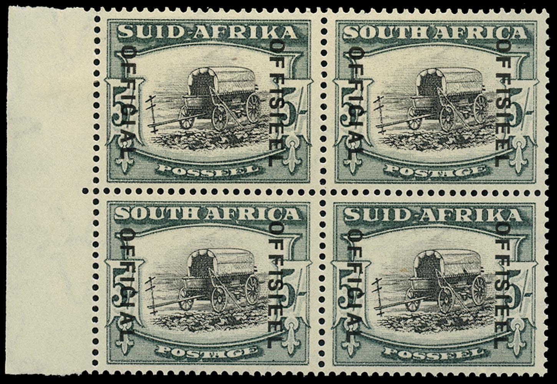 SOUTH AFRICA 1935  SGO28, var Official