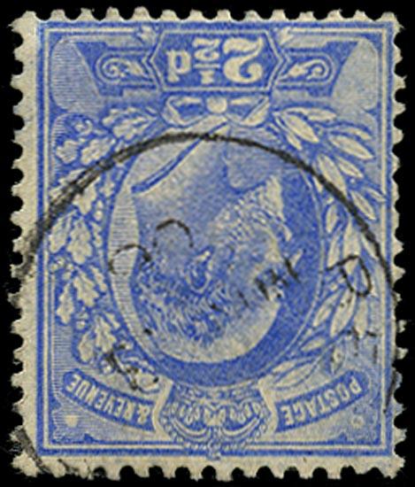 GB 1902  SG230wi Used (Wmk. Inverted) Superb used example