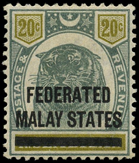 MALAYA - F.M.S. 1900  SG6 Mint
