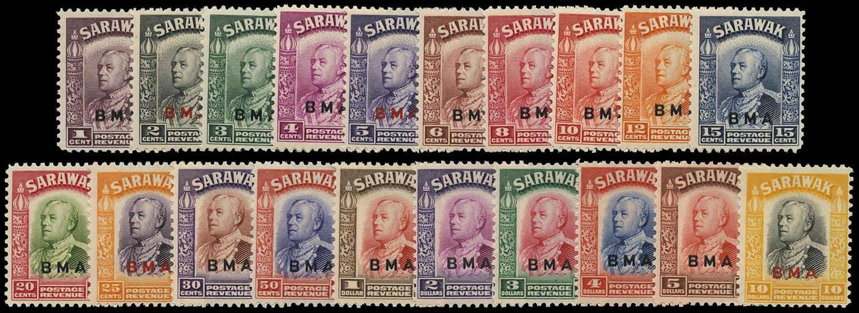 SARAWAK 1945  SG126-45 Mint