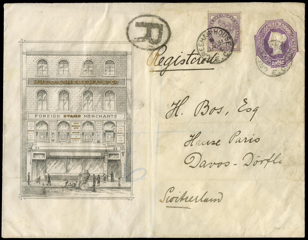 GB 1894  SG172 Cover