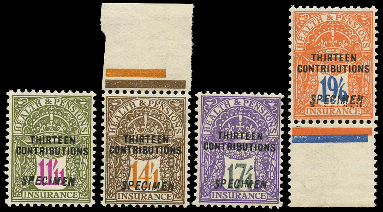 GB 1926 Revenue Health and pensions 13 Contributions