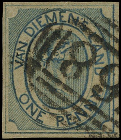 TASMANIA 1853  SG2 Used