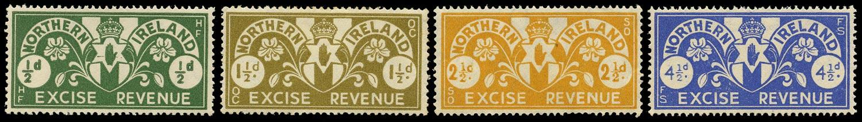 GB 1934 Revenue Northern Ireland Excise Duty