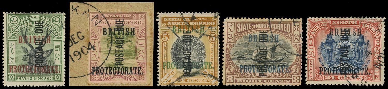 NORTH BORNEO 1902  SGD32/6 Postage Due