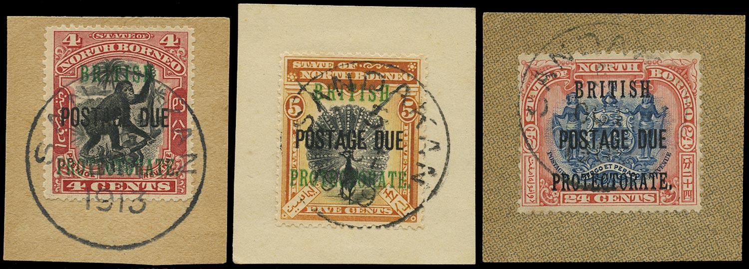 NORTH BORNEO 1902  SGD40/1, 49 Postage Due