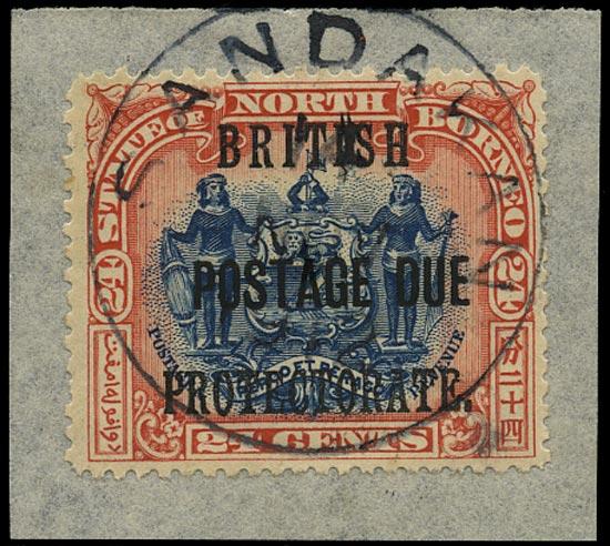 NORTH BORNEO 1902  SGD49 Postage Due