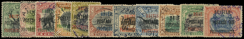 NORTH BORNEO 1902  SGD38/49 Postage Due
