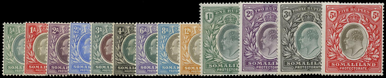 SOMALILAND PROTECT 1904  SG32/44 Mint