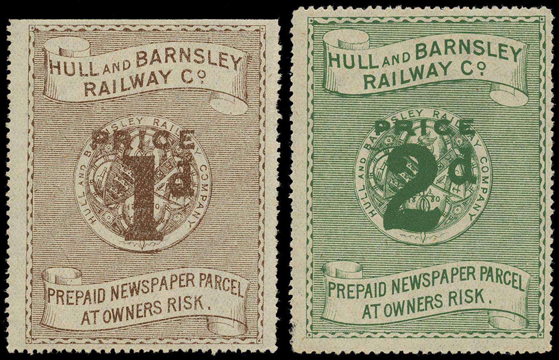 GB 1905 Railway - Hull & Barnsley railway