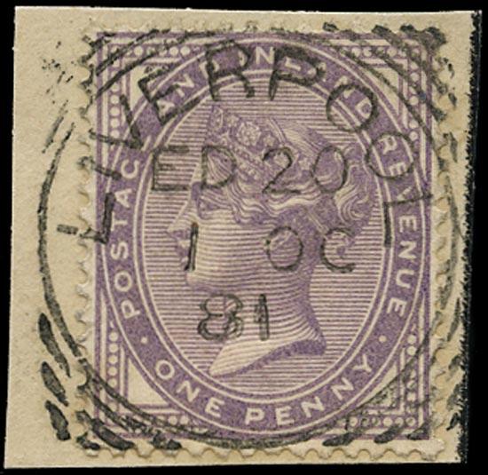 GB 1881  SG171 Used