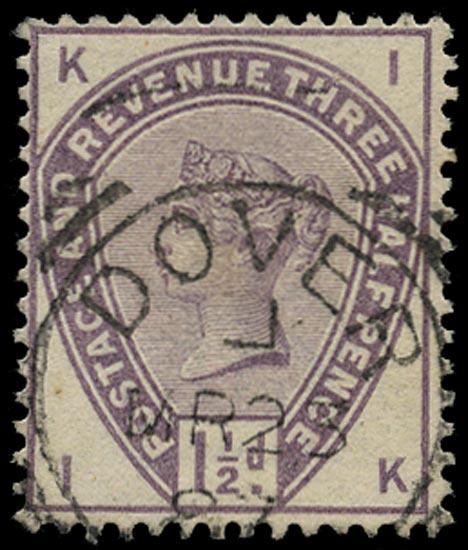 GB 1884  SG188 Used