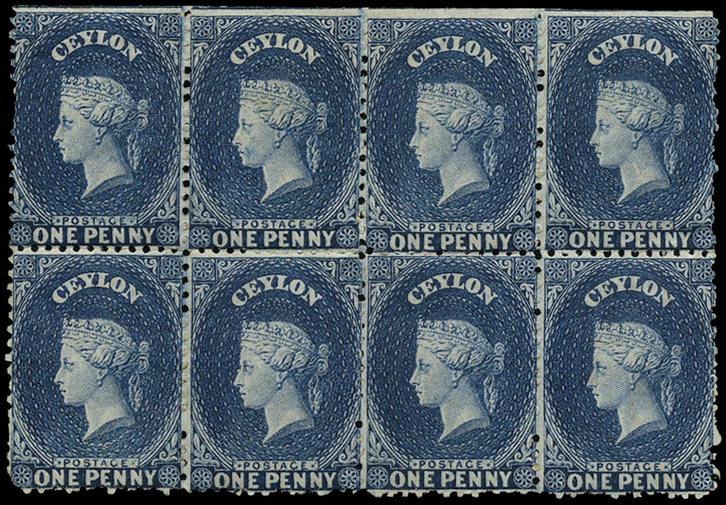 CEYLON 1863  SG49 Mint