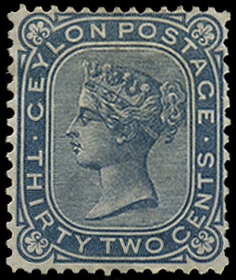 CEYLON 1872  SG139 Mint
