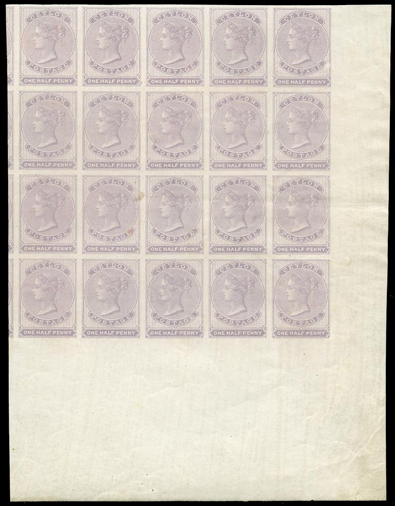 CEYLON 1857  SG17 Mint