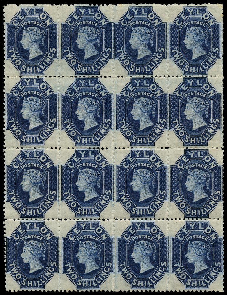 CEYLON 1867  SG72b Mint