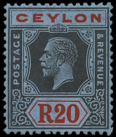 CEYLON 1921  SG357 Mint