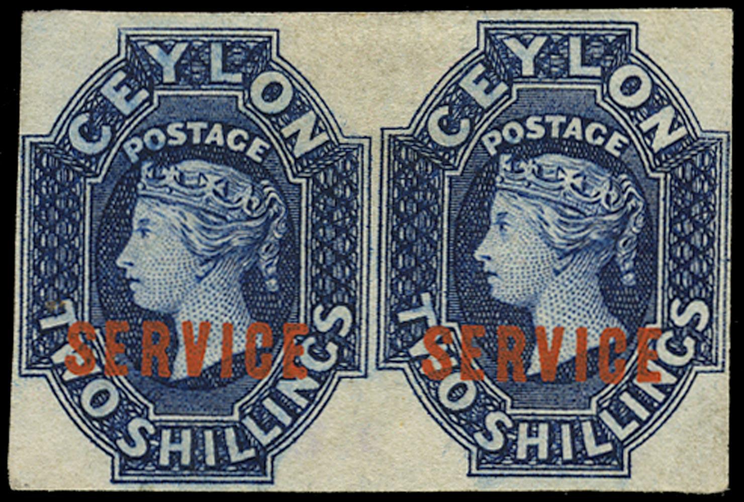 CEYLON 1869  SGO5a Official